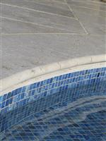 Tumbled Classic Travertine Turkish Pool Coping