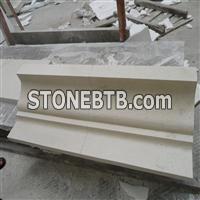 Limestone Door Surround, Wall Moulding