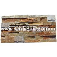 Multicolor Slate Tiles for wall cladding (ABW014)