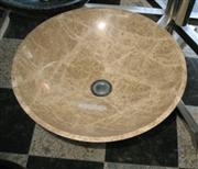 Sink Light Emperador marble