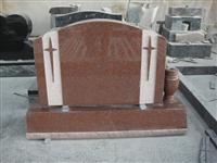 India Red Bevel base monument