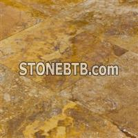 Oasis Gold Travertine Honed and Filled