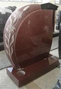 Imperial Red Granite Tombstone