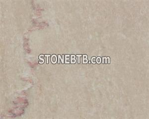 Quality flower beige marble