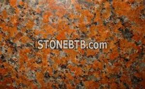 Red Granite Maple Leaf Red