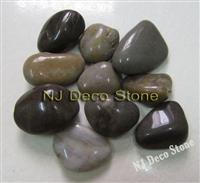 multicolor pebble stone mixed beach pebble stone