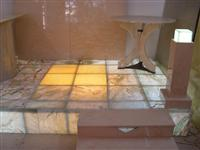 Glass Laminated Marble