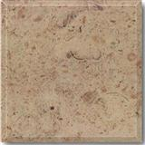 beige travertine slabs