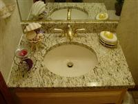Giallo Ornamental Vanity top
