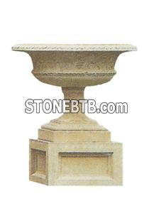 Garden Granite Flower Vases