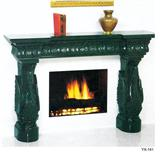 Stone / Granite / Marble Fireplace (YX-141)