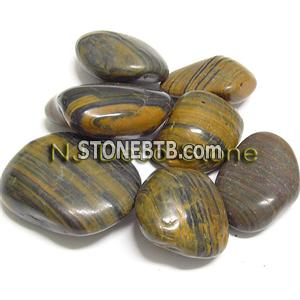 polished stripe pebble tiger beach pebble