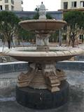Garden landscape stone fountain feng shui ball fountain fountain professional custom