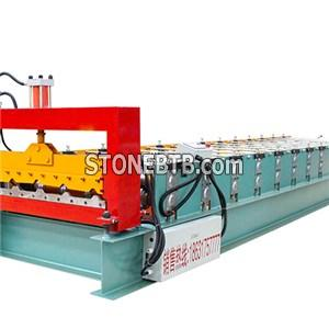 Trapezoidal And IBR Roofing Forming Machine
