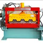 Floor Decking Sheet Roll Forming Machine with 0.05mm Thickness and PLC Controller