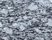 Polished Spary White Granite