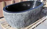 Shanxi Black Granite stone bath tub