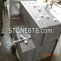 Chinese granite G644 stone step