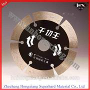 Diamond cutting wheel for masonry