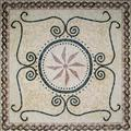Stone Medallion, Pattern