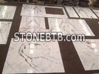 Damasco White Marble