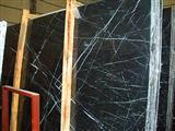 Black and White Marble Slabs