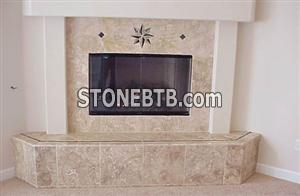 Fireplace Durango Travertine Select