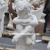 White Marble sculpture