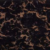 Black Golden Flower, marble tiles