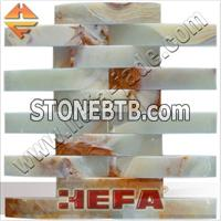 Green Onyx stone wall tile (XMD001LG)