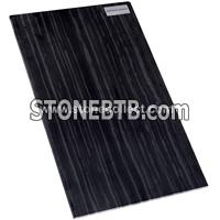 Black serpegiante, Imperial Black Wood marble tile