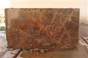 Rainforest Brown Marble Slabs