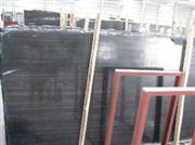 black wood marble slab -cross cut