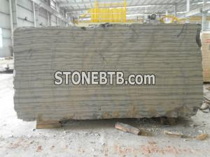black wood marble slab