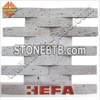 Travertine tile mosaic (XMD001T)