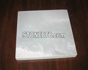 backlit white onyx tiles (Z-20)