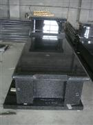 Granite Beida green tombstone