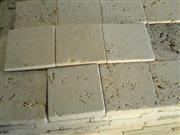Light Travertine Tumbled Tiles