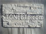 White Quartzite Ledges Stone