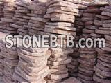 Pink Sandstone Stepping Stone