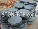 Black Slate Stepping Stone