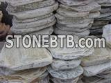 Yellow Quartzite Stepping Stone