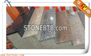 Differente kinds of granite stairs