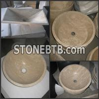 Travertine Basin Sink