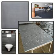 black basalt tiles, grey basalt tiles