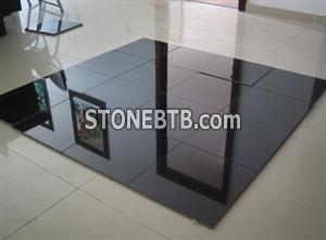 Shanxi black granite tiles