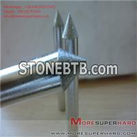 Carbide processing by electroplating diamond grinding head Alisa@moresuperhard.com