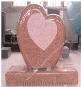 tian shan red headstone