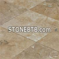 Denizli Walnut Travertine Honed and Filled