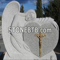 Angel Carving Tombstone